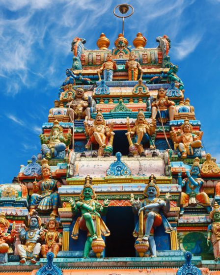 Temple bouddhiste de Colombo Sri Lanka