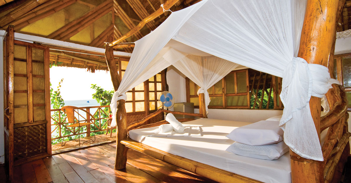 Chambre d'hôtel éco village